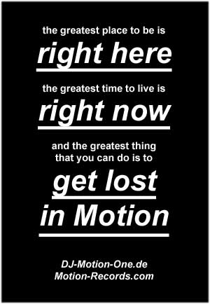 Motion-Records Motto